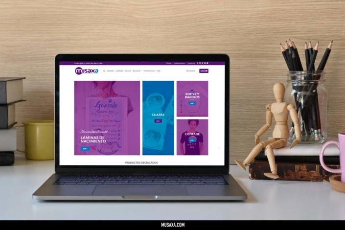 Tienda online Musaxa